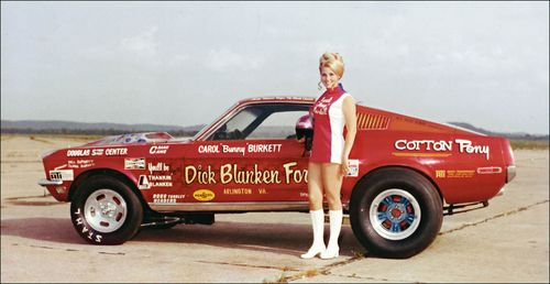 Bunny Burketts Fastback Mustang New