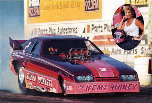 Bunny Burkett Champ Funny Car
