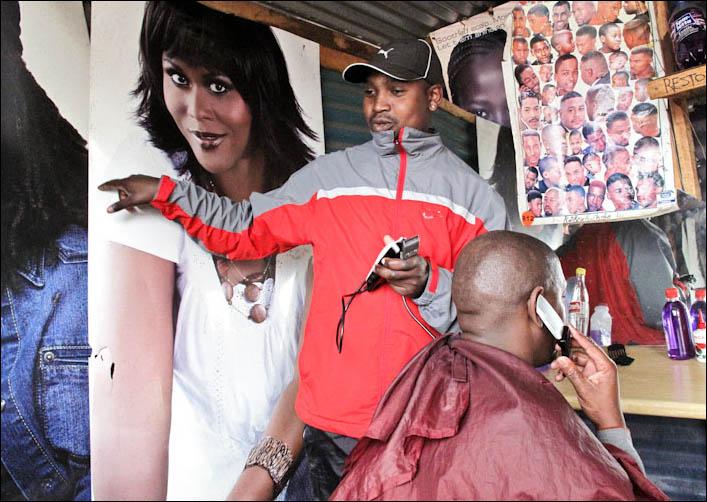 Mavusana Barber Shop Inside