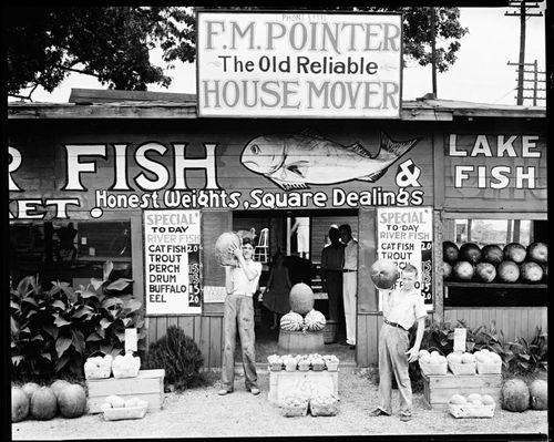 Walker Evans Fish House