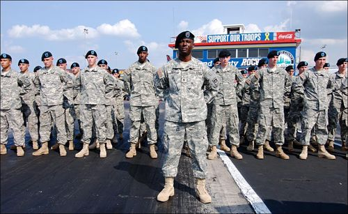 NG National Guard Troops