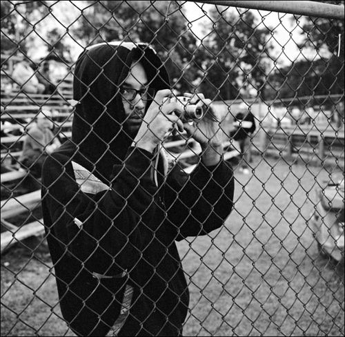 Fan Shoots Through Fence