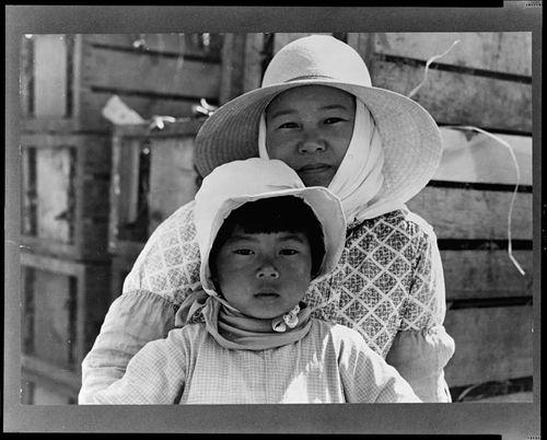 Lange Japanese Farm Worker Mother
