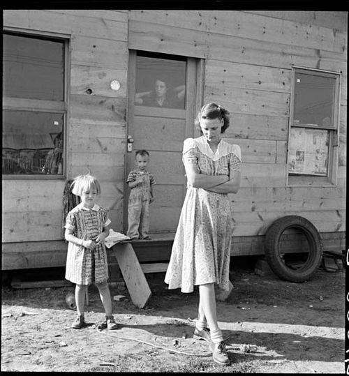 Lange Young Mother Klamath Falls Oregon