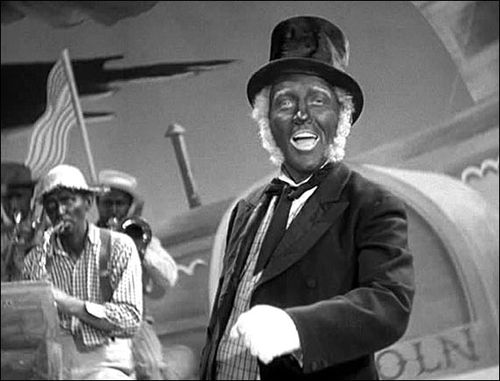 Bing Crosby Holiday Inn Blackface