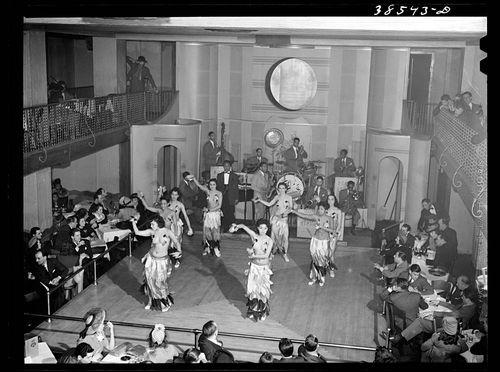 Russell Lee Negro cabaret. Chicago, Illinois