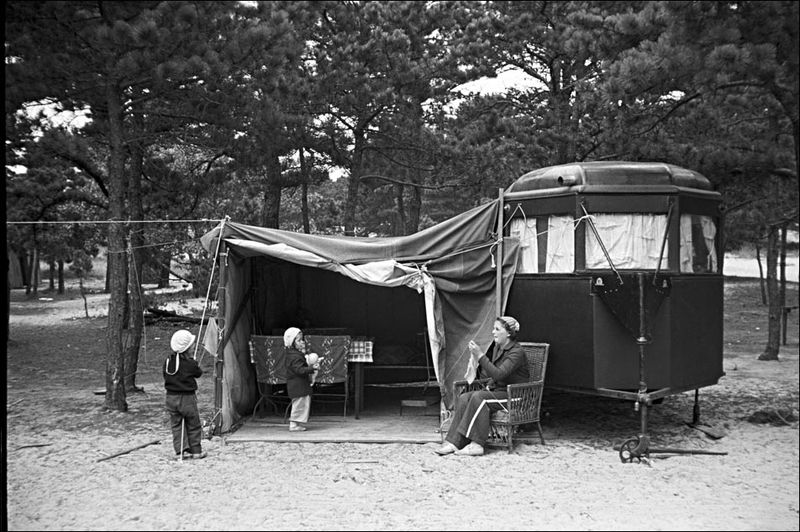 Mydans Auto Trailer Camp Massachusetts