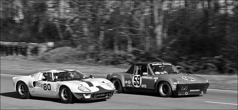 12 Summit Point VRG Fordt GT40 Porsche 914