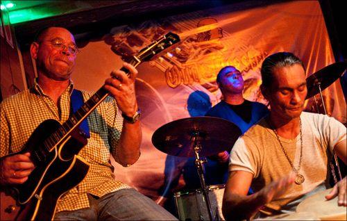 Alvin Dyers at Swingers Jam