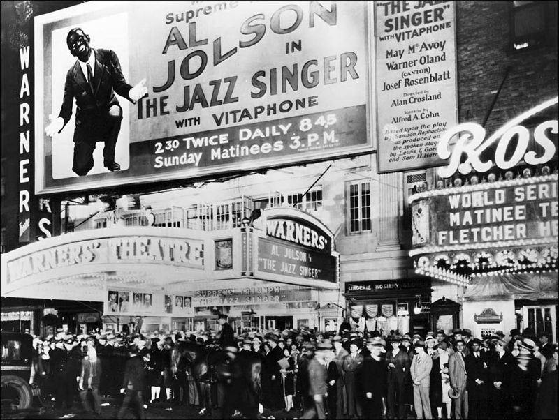 Al Jolson Jazz Singer Premiere