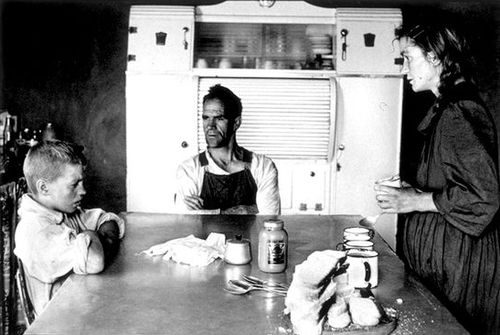 David Goldblatt family-at-lunch-1962