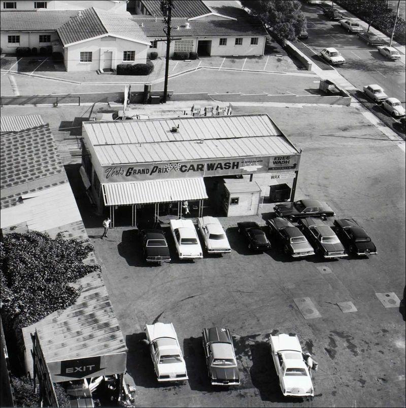Joe Deal Grand Prix Car Wash Long Beach, California Long Beach Documentary Survey Project 1980 sml