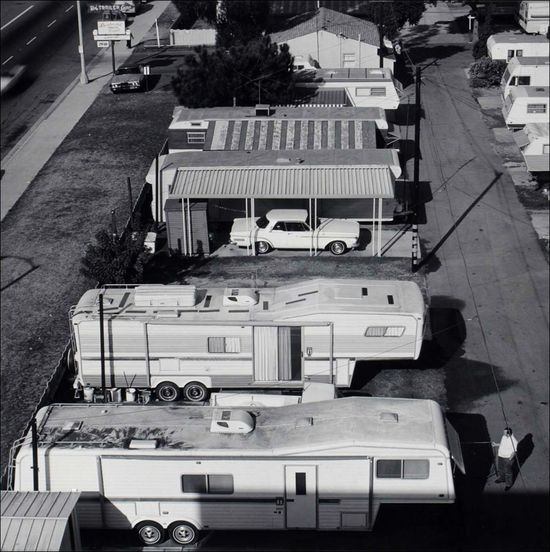 Joe Deal Boulevard Trailer Court Long Beach California Long Beach Documentary Survey Project 1980 sml