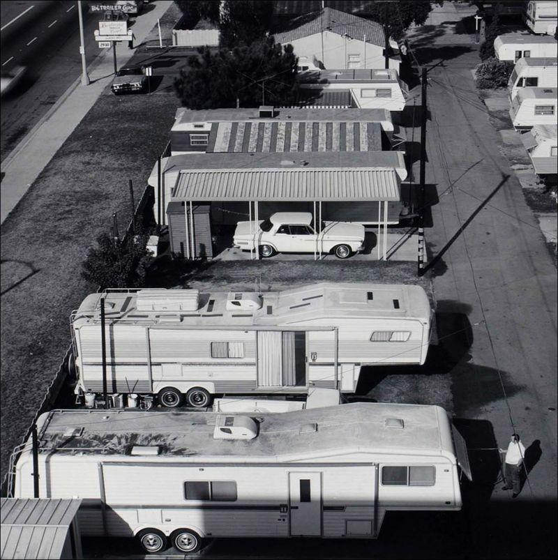 Joe Deal Boulevard Trailer Court Long Beach California Long Beach Documentary Survey Project 1980 sml