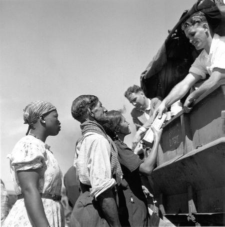 Constance Stuart Larrabee Johannesburg Social Welfare Food Line 1947_48