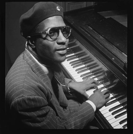 Willaim Gottlieb Thelonious Monk Mintons Playhouse New York NY, ca Sept 1947