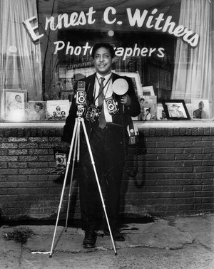 Ernest Withers with Cameras