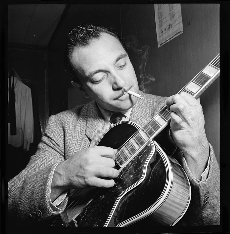 Willaim Gottlieb Django Reinhardt Aquarium New York NY ca Nov 1946