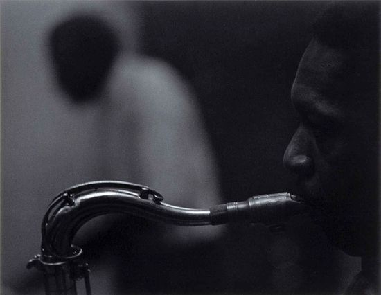 Roy DeCarava John Coltrane Elvin Jones 1960