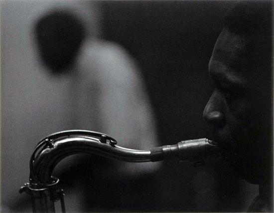 Roy DeCarava John Coltrane Smithsonian American Art Museum sml