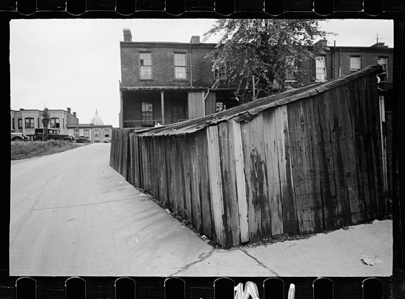 Carl Mydans Slum section near the Capitol Washington DC 1935
