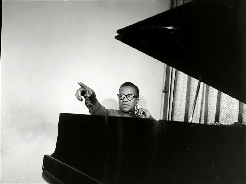 Billy Strayhorn Duke Ellington Collection Archives Center National Museum of American History Photographer Unknown 02