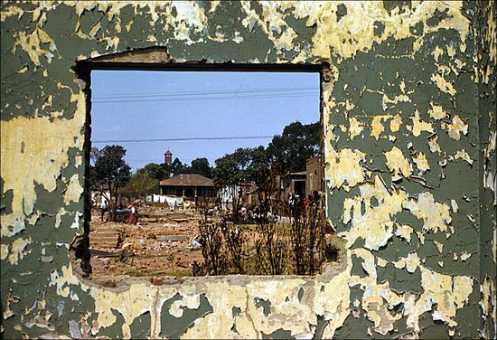 Eliot Elisofon Sophiatown as it was left after removal of the population under the Western Areas Removal Scheme Johannesburg South Africa 1959 02