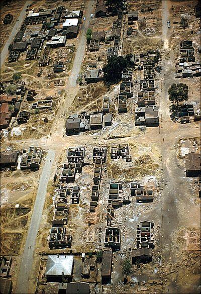 Eliot Elisofon Aerial view of Sophiatown Johannesburg South Africa 1959 01