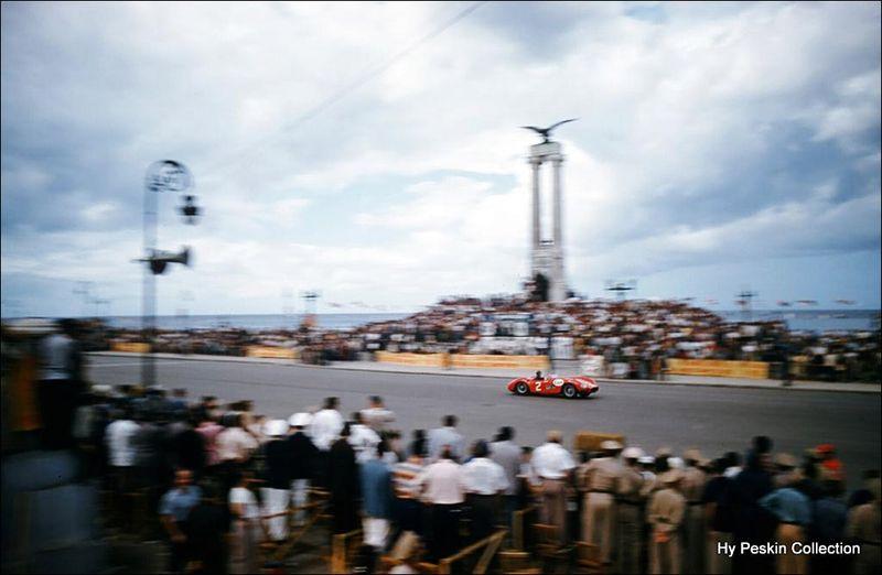 Hy Peskin Juan Manuel Fangio Cuba Grand Prix 1957