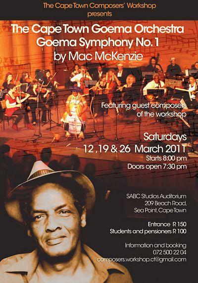 Mac McKenzie Goema Symphony Poster A