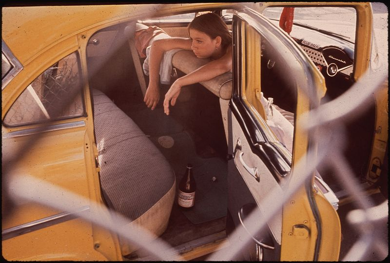 Danny Lyon Teenager in Second Ward Neighborhood 06 1972