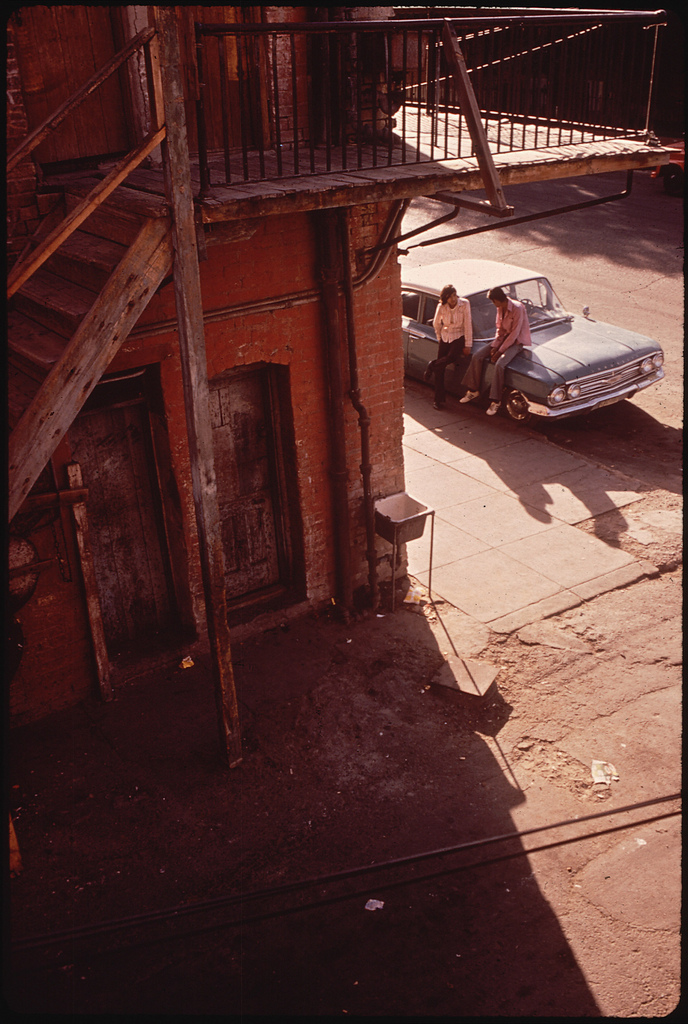 Danny Lyon El Pasos Second Ward Neighborhood  Which Is Losing Its Ethnic Flavor in the Wake of Urban Renewal 06 1972