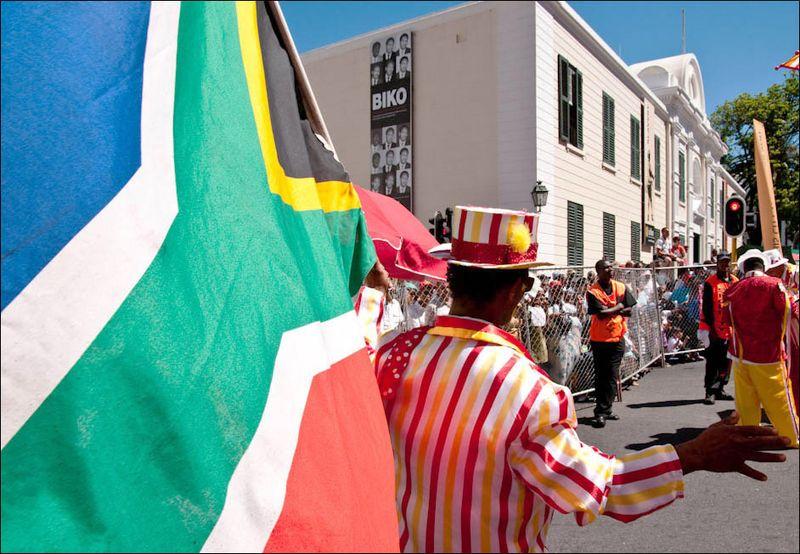 22 SA Flag Parade