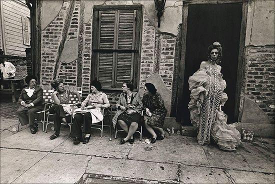 Jill Freedman Mardi Gras 1973 a