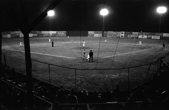 Russell Lee Night baseball Marshall Texas 1939