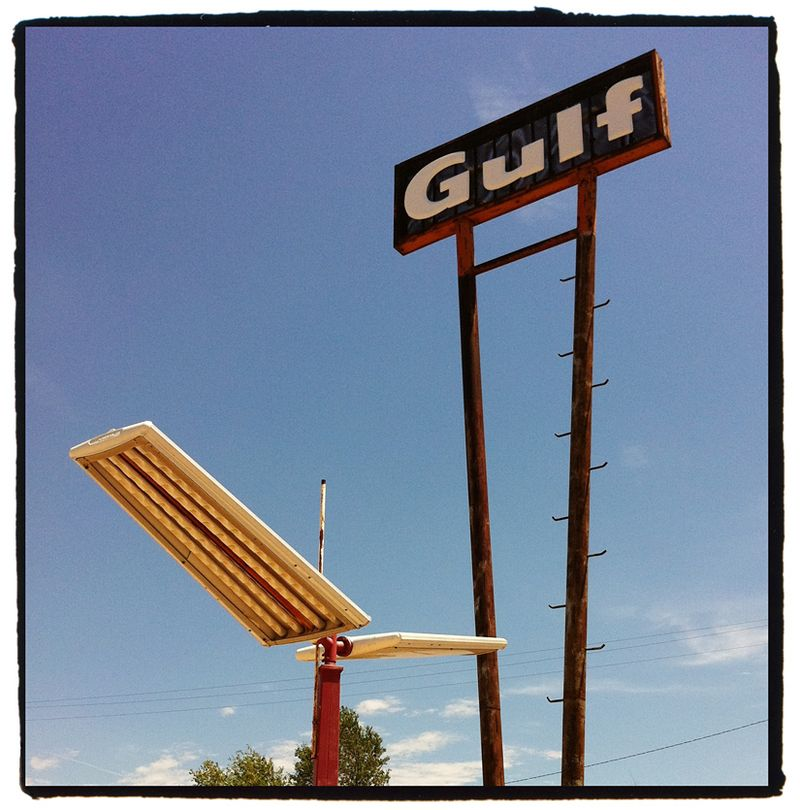 Route 66 Space Age Gulf Blog