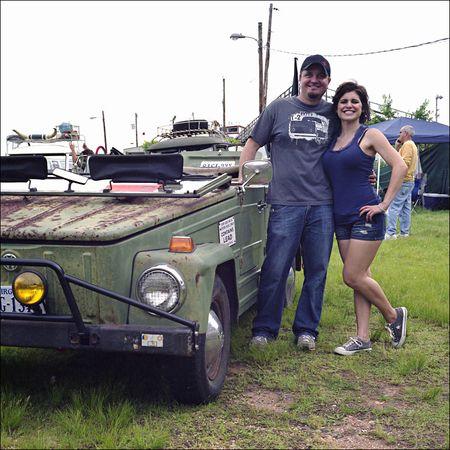 Richard Butcher Steph Novak 74 VW Thing