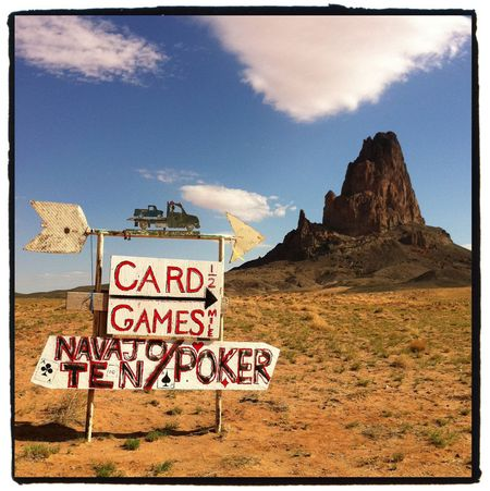 Monument Valley Navajo Card Games iPhone Photo