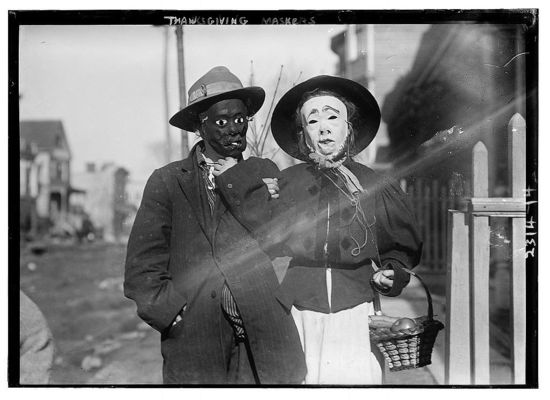 Thanksgiving Maskers Bain News Service c 1910 1915 02