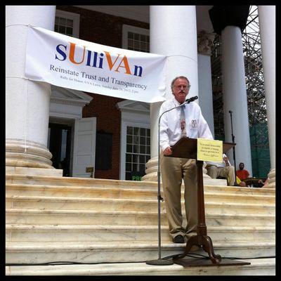 Mason UVA Sullivan Crisis Third Rally Peter Onuf