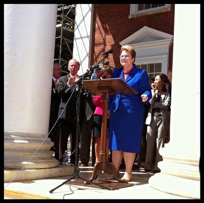 Mason UVA Sullivan Crisis Last Rally Sullivan Speaks