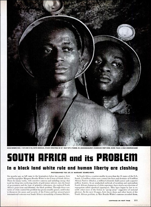 01 Bourke White Life South Africa Article First Page