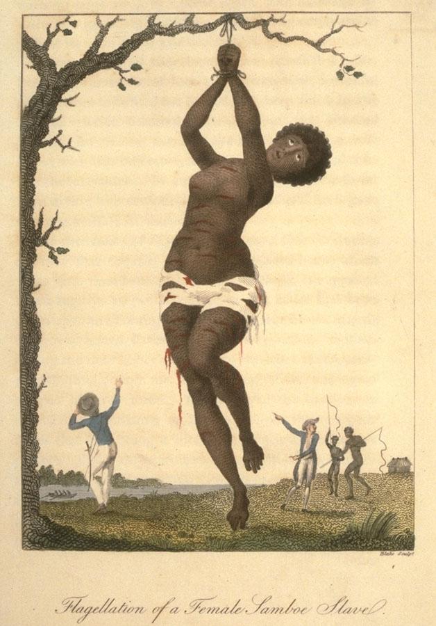 16 william blake flagellation of female slave