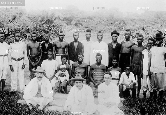 Panos Anti Slavery International John and Alice Harris in Belgian Congo 1910
