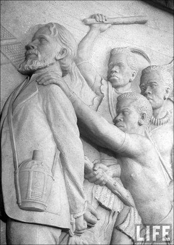 09c Margaret Bourke White Vooktrekker Monument Piet Retief Zulu