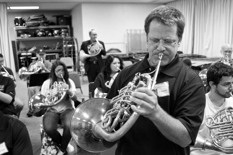 John Edwin Mason Watkins Jazz Fest 12 BW-8452