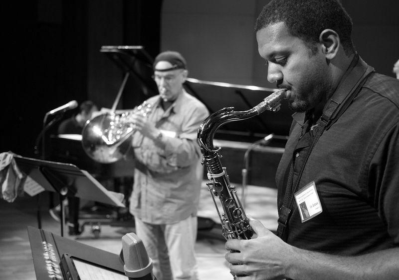 John Edwin Mason Watkins Jazz Fest 12 BW-1010123