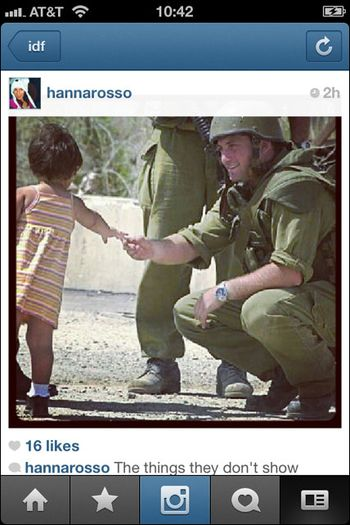 Instagram War Israel 09