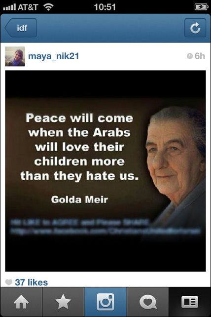 Instagram War Israel 26