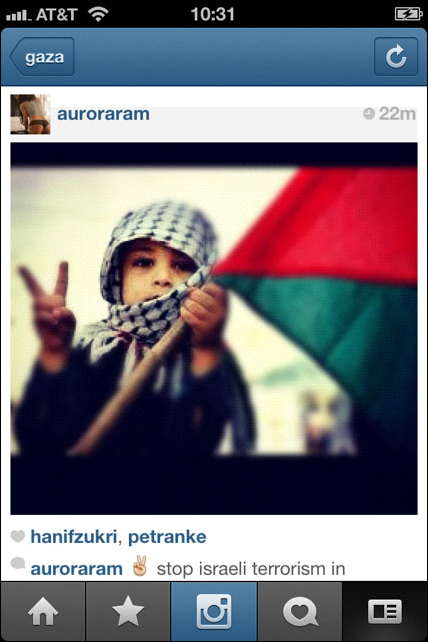 Instagram War Gaza 05